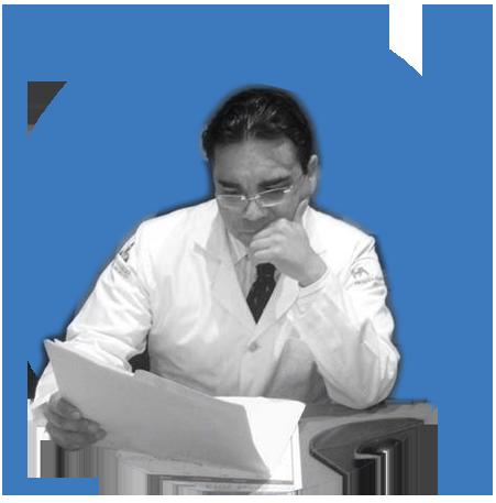 dr fabian walters diagnosticando el tratamiento de infertilidad